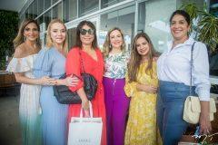 Michelle Aragão, Sandra Fujita, Cláudia Gradvohl, Suyane Dias Branco, Martinha Assunção e Elisa Oliveira
