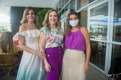 Michelle Aragão, Suyane Dias Branco e Márcia Travessoni