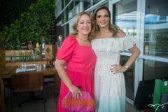 Tânia Texeira e Michelle Aragão