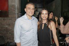 Josimario Cordeiro e Patricia Studart