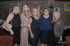 Norma, Tais, Ana, Lucia e Bete Pinto