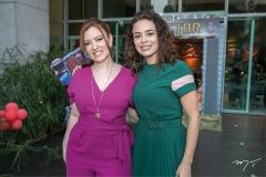 Aline Barroso e Carol Martins