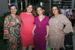 Auxiliadora, Lívia, Aline e Cláudia Felix