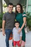 Bebeto, Felipe e Carol Martins