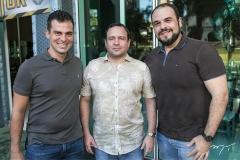 Bebeto Martins, Igor Barroso e Sarquis Fermanian