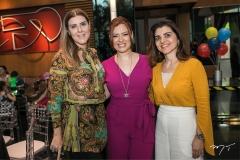 Carla Pereira, Aline Barroso e Rilka Bezerra