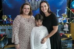 Cláudia, João e Renata Felix
