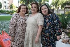 Cláudia, Vera e Adriana Felix