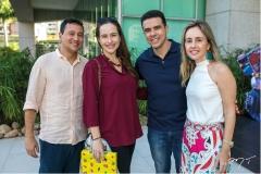 Mardônio Barros, Bia Fiuza, Nisabro e Carol Fujita