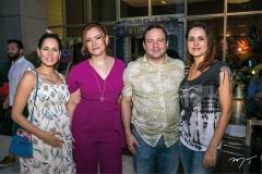 Marília Queiroz, Aline e Igor Barroso e Manoela Queiroz Bacelar