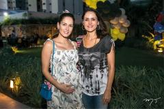 Marília Queiroz e Manoela Queiroz Bacelar
