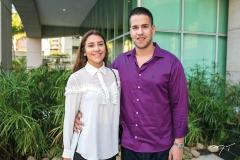 Vitoria Falcão e Lucas Felix