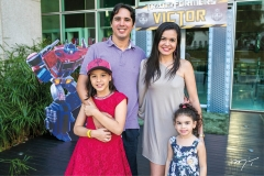 Yasmin Lima, Saulo e Graziele Oliveira e Julia Lima