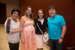 Eulina, Aline, Janine Feitosa E Francisco Bezerra