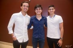 Felipe Albuquerque, Luciano Moreno E Artur Brandão
