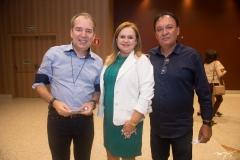 José Torres, Betenia Macedo e Ivan Brito