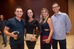 Márcio e Andreia Rossi, Delania e José Maria Rios