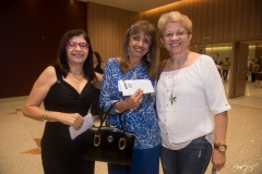 Marluce Melo, Lúcia Moreira e Fátima Sales