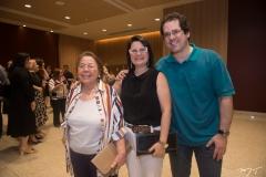 Meiriane, Adriane Leitão e Jorge Mendonça