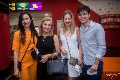 Luciana Menezes, Raimundinha de Goes, Fernanda Filizol e  Luciano Moreno