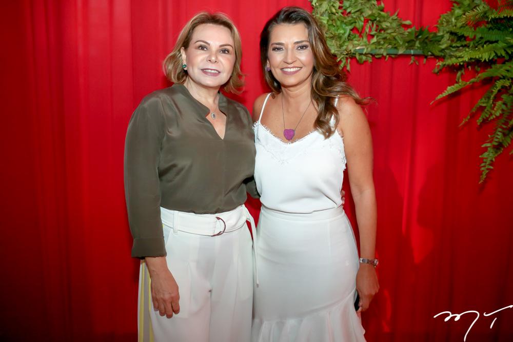 Albanisa Carvalho e  Márcia Travessoni