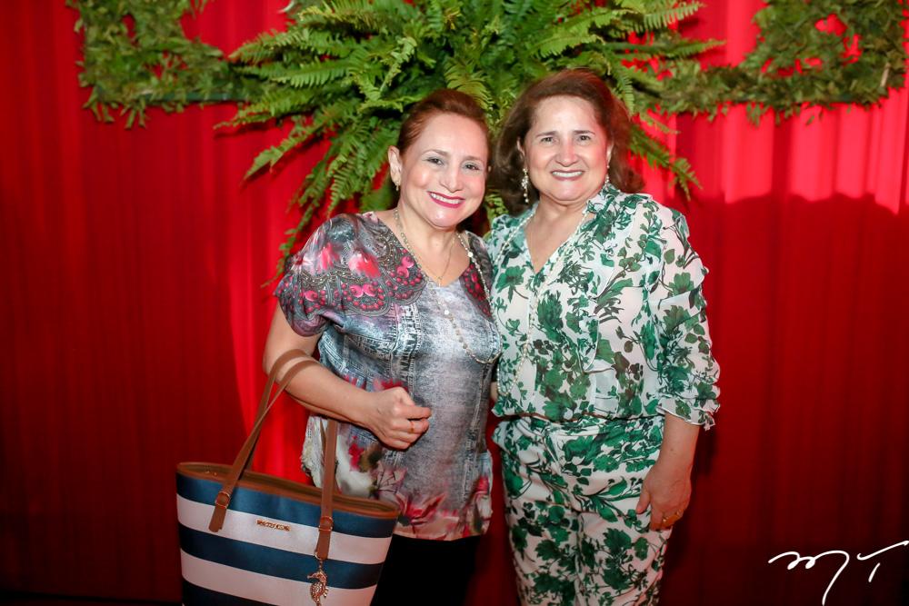 Aureni Coelho e Auricelia Queiros