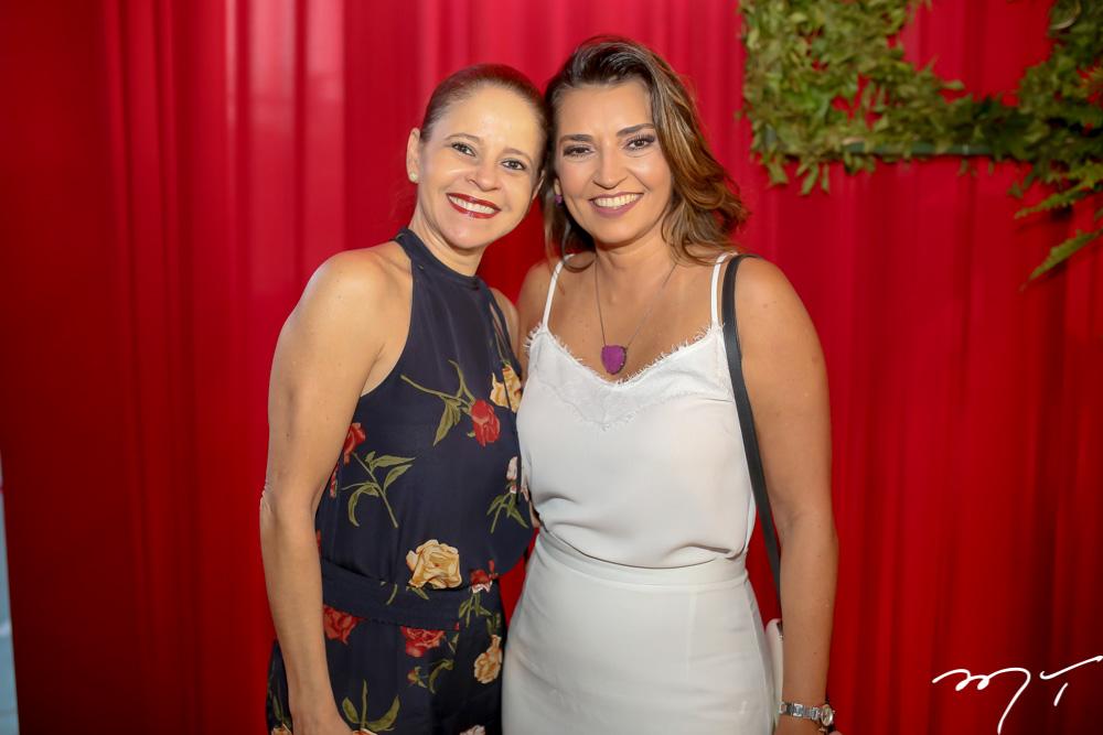 Claudiana Juaçaba e  Marcia Travessoni