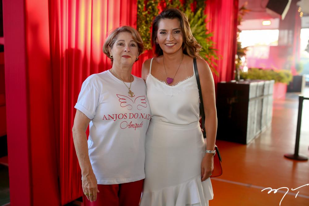 Consuelda Azevedo e Márcia Travessoni
