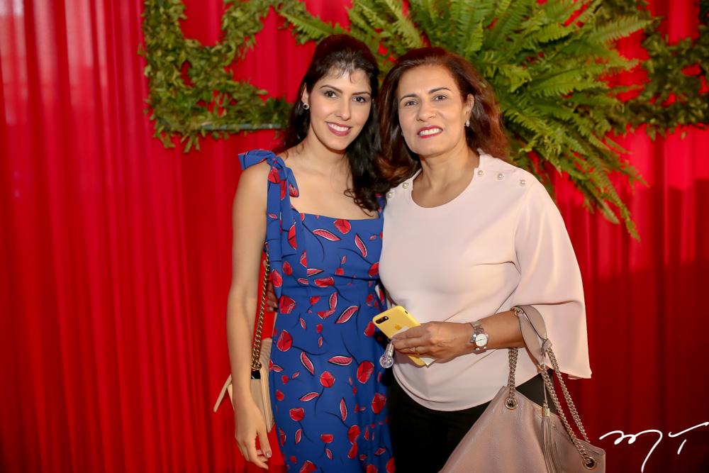 Flávia Laprovitera e Márcia Teixeira