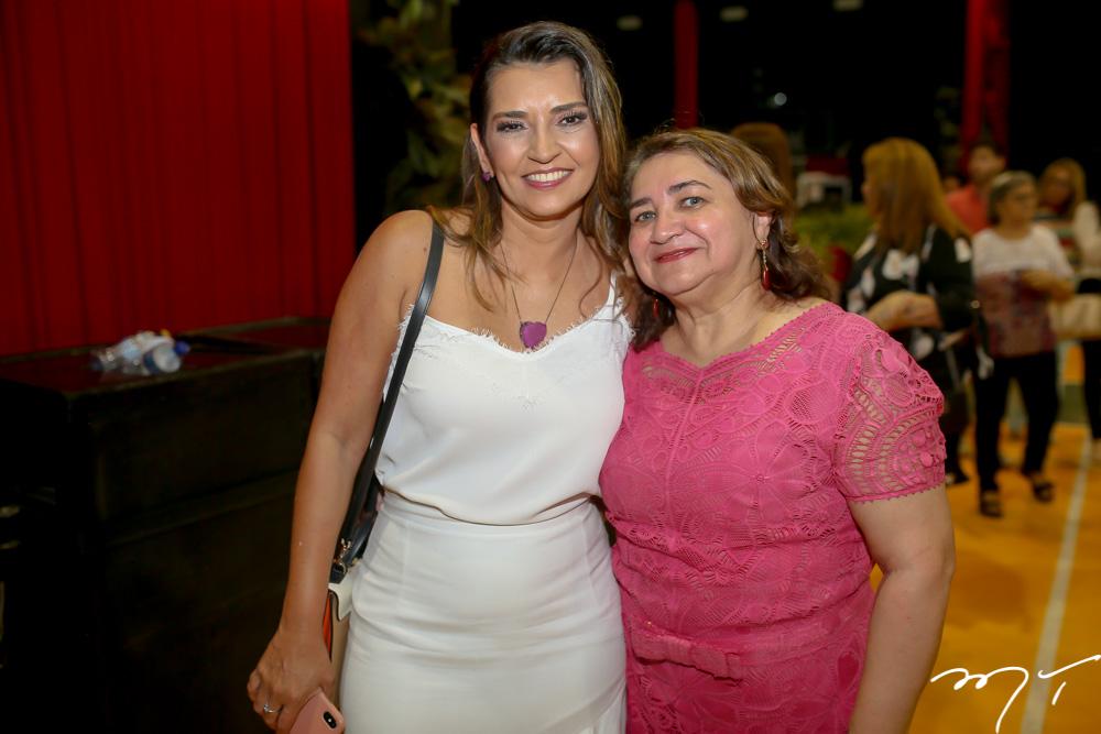 Márcia Travessoni e Maria Vital