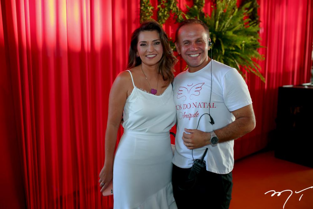 Márcia Travessoni e Raí Meirelles