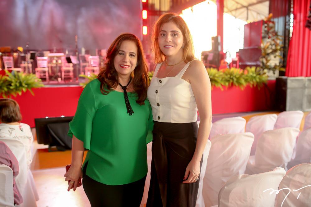 Martinha Assunção e Cristiane Faria