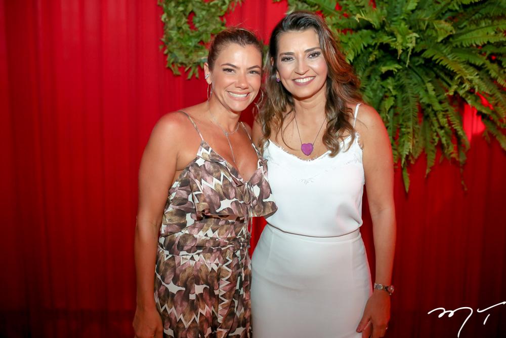 Vanessa Queirós e  Márcia Travessoni