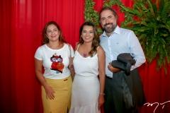 Adriana Fonseca,  Márcia Travessoni e Alexandre Fonseca