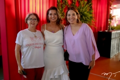 Consuelda Azevedo, Márcia Travessoni e Euwlaudia Fontenele