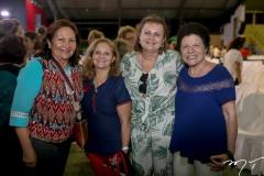 Gracilene Gomes, Lúcia de Fátima, Janice Machado e Sarita Ary
