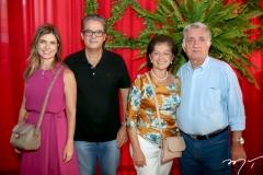 Inês e Vicente de Castro, Maria Inês e Sérgio Armando de Sá e Benevides