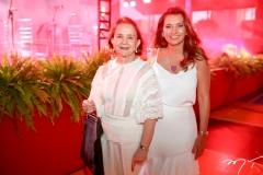 Lenita Negrão e  Márcia Travessoni