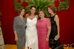 Maria José, Márcia Travessoni, Maria Vital e Suzane Farias