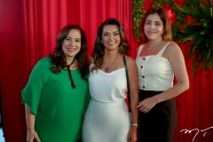 Martinha Assunção, Márcia Travessoni e Cristiane Faria