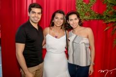 Pedro Garcia,  Márcia Travessoni e Carla Laprovitera