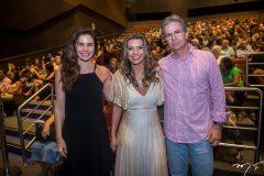 Ana Luiza, Márcia Travessoni e Adriano Vieira