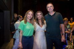 Ana Paula Daud, Márcia Travessoni e João Cateb Melo