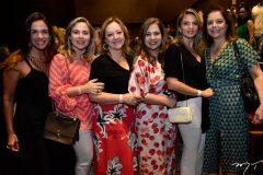 Ana Virginia Martins, Suyane Dias Branco, Tania Teixeira, Martinha Assunção, Michelle Aragão e Cláudia Gradvohl