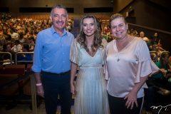 Artur Bruno, Márcia Travessoni e Natércia Rios