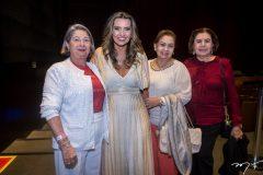 Consuelda Andrade, Márcia Travessoni, Etel Rios e Neusa Bentes