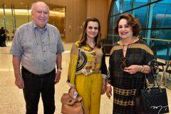 Danisio, Nagila e Regina Correa