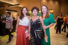 Dóris, Inês Burlamaqui e Luiziane Cavalcante