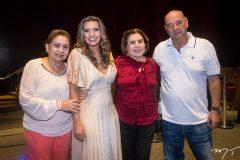 Etel Rios, Márcia Travessoni, Neusa Bentes e Fernando Travessoni