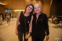 Jussara Queiroz e Gisele Maia